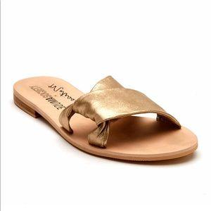 Matisse Capri Slide Leather Sandal